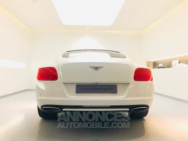 Bentley Continental GT W12 6.0 Blanc Glacier White Occasion - 6