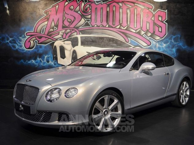 Bentley Continental GT W12 COUPE  GRIS METAL  Occasion - 1