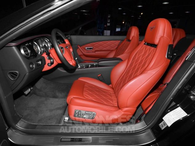Bentley Continental GTC V12  NOIR METAL Occasion - 11