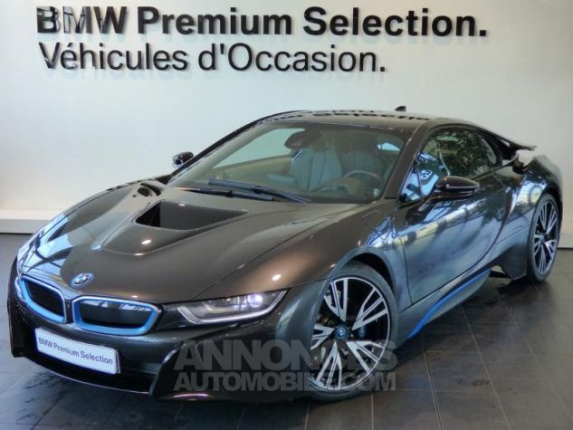 BMW i8 362ch Pure Impulse Sophisto Grey avec lisere bleu Occasion - 0