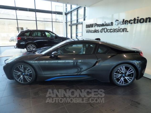 BMW i8 362ch Pure Impulse Sophisto Grey avec lisere bleu Occasion - 3