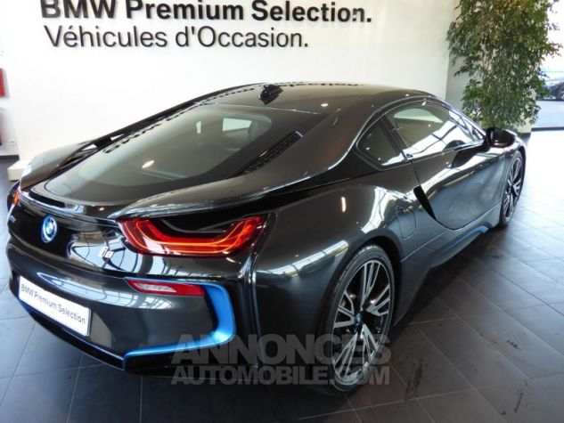 BMW i8 362ch Pure Impulse Sophisto Grey avec lisere bleu Occasion - 4