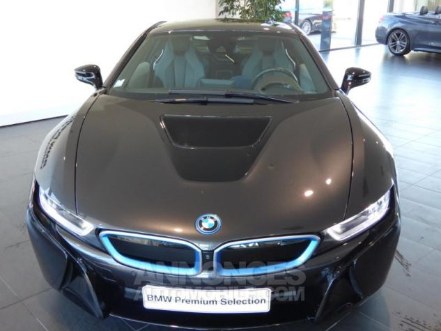 BMW i8 362ch Pure Impulse Sophisto Grey avec lisere bleu Occasion - 5