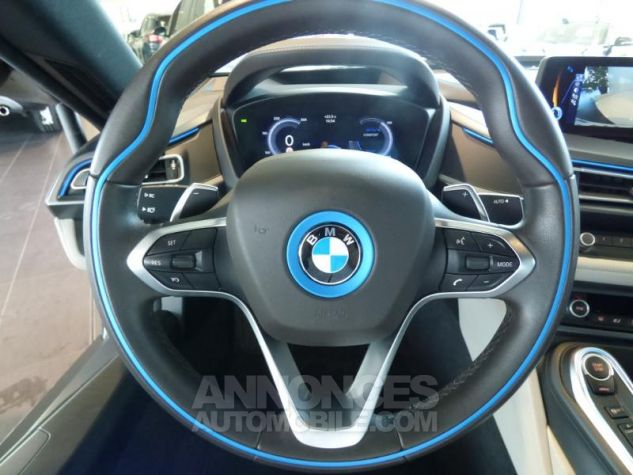 BMW i8 362ch Pure Impulse Sophisto Grey avec lisere bleu Occasion - 12