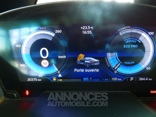 BMW i8 362ch Pure Impulse Sophisto Grey avec lisere bleu Occasion - 19