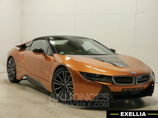 BMW i8 ROADSTER FROZEN GREY ORANGE  Occasion - 1