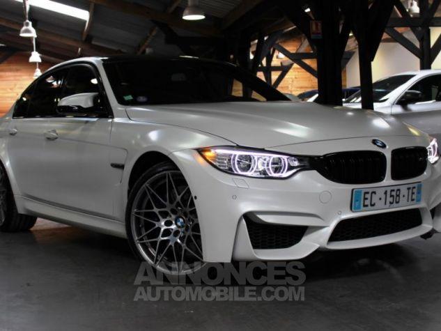 BMW M3 F80  450CH PACK COMPETITION M DKG FROZEN BRILLANTWHITE Occasion - 0