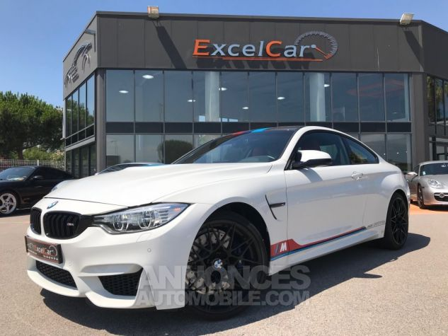 BMW M4 (F82) COUPE 450 PACK COMPETITION DKG BLANC ALPINWEISS Occasion - 1