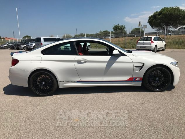 BMW M4 (F82) COUPE 450 PACK COMPETITION DKG BLANC ALPINWEISS Occasion - 5