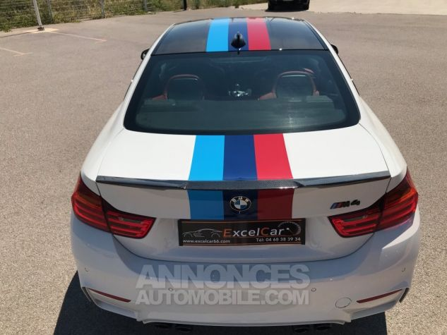 BMW M4 (F82) COUPE 450 PACK COMPETITION DKG BLANC ALPINWEISS Occasion - 6