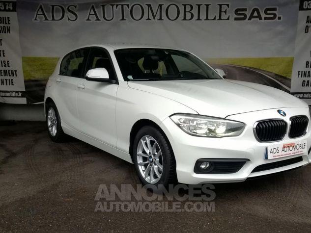BMW Série 1 114D 95 CH Business Blanc Occasion - 0