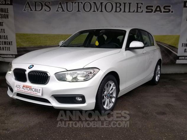BMW Série 1 114D 95 CH Business Blanc Occasion - 2