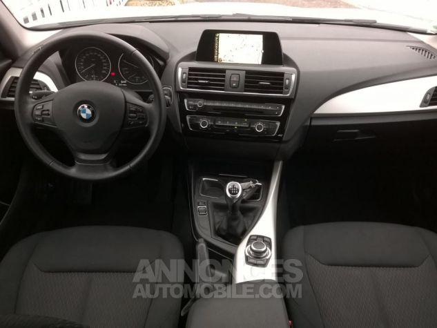 BMW Série 1 114D 95 CH Business Blanc Occasion - 4