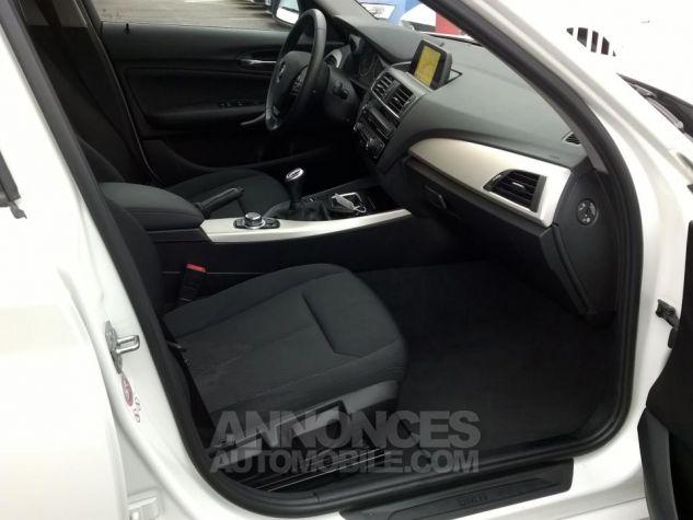 BMW Série 1 114D 95 CH Business Blanc Occasion - 5