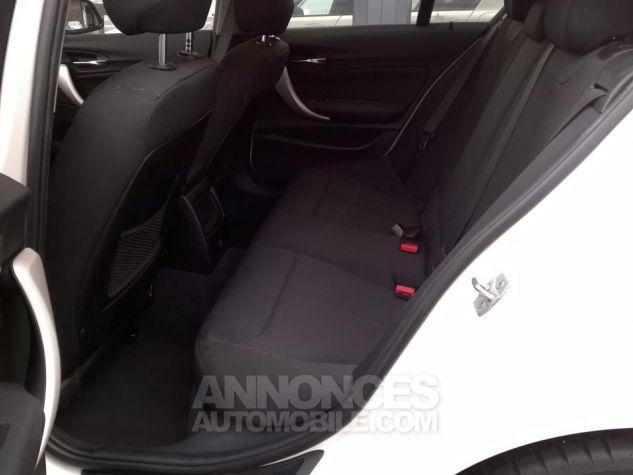 BMW Série 1 114D 95 CH Business Blanc Occasion - 7