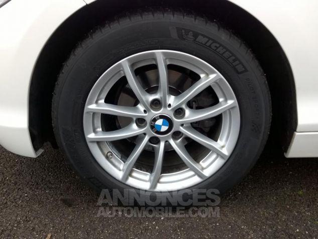 BMW Série 1 114D 95 CH Business Blanc Occasion - 8