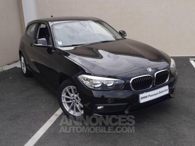BMW Série 1 114d 95ch Lounge 3p Schwarz Occasion - 0
