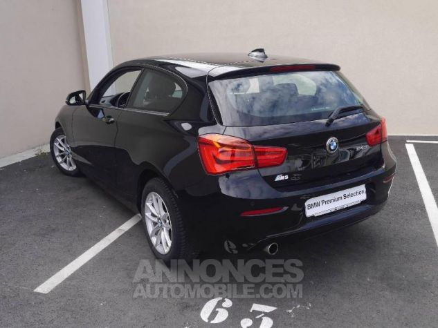 BMW Série 1 114d 95ch Lounge 3p Schwarz Occasion - 1