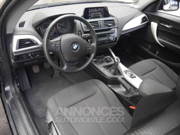 BMW Série 1 114d 95ch Lounge 3p Schwarz Occasion - 3