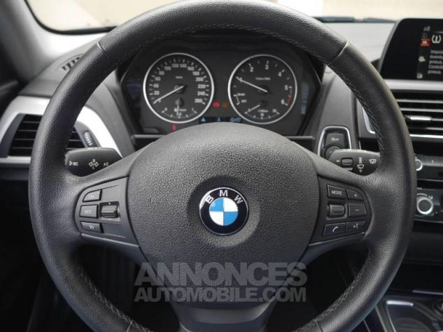 BMW Série 1 114d 95ch Lounge 3p Schwarz Occasion - 4