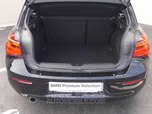 BMW Série 1 114d 95ch Lounge 3p Schwarz Occasion - 6