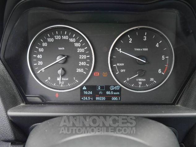 BMW Série 1 114d 95ch Lounge 3p Schwarz Occasion - 7