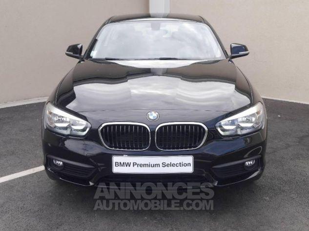 BMW Série 1 114d 95ch Lounge 3p Schwarz Occasion - 10