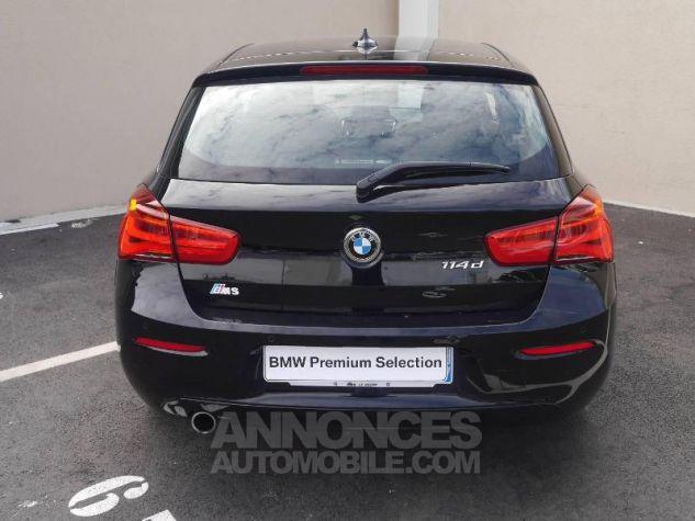 BMW Série 1 114d 95ch Lounge 3p Schwarz Occasion - 11