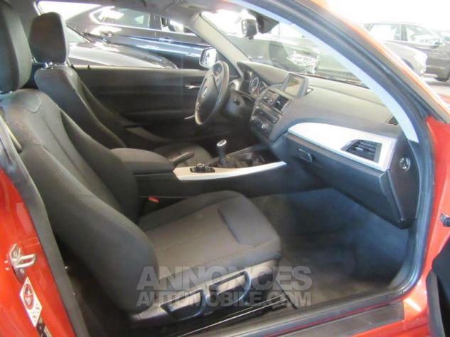 BMW Série 1 114d 95ch Lounge 3p Orange Métal Occasion - 1