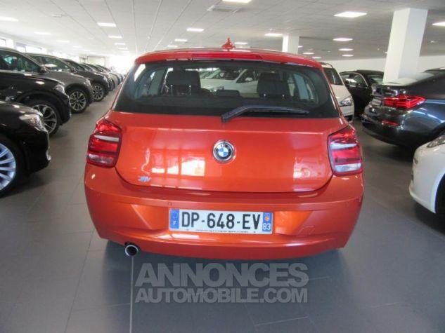 BMW Série 1 114d 95ch Lounge 3p Orange Métal Occasion - 3