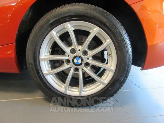 BMW Série 1 114d 95ch Lounge 3p Orange Métal Occasion - 9