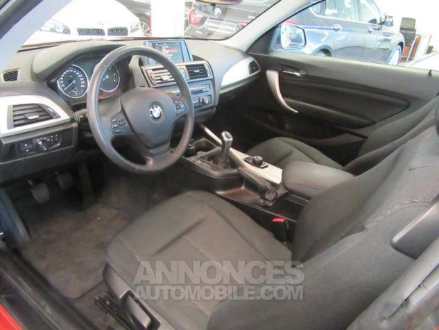 BMW Série 1 114d 95ch Lounge 3p Orange Métal Occasion - 10