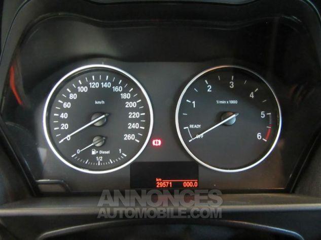 BMW Série 1 114d 95ch Lounge 3p Orange Métal Occasion - 12