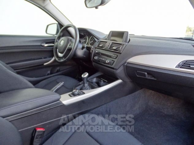 BMW Série 1 114d 95ch Lounge 3p Mineralgrau Metalliee Occasion - 2