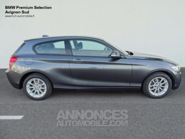 BMW Série 1 114d 95ch Lounge 3p Mineralgrau Metalliee Occasion - 9