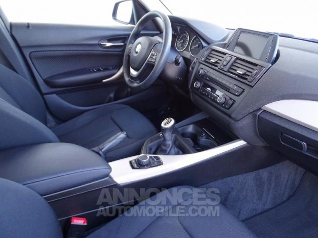 BMW Série 1 114d 95ch Lounge 5p Tiefseeblau metalisee Occasion - 2