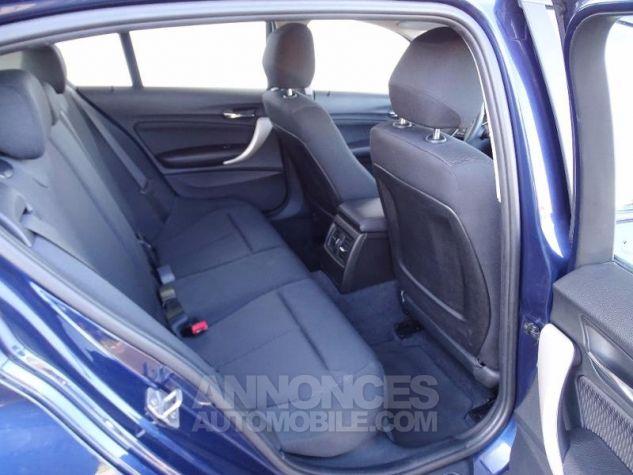 BMW Série 1 114d 95ch Lounge 5p Tiefseeblau metalisee Occasion - 3