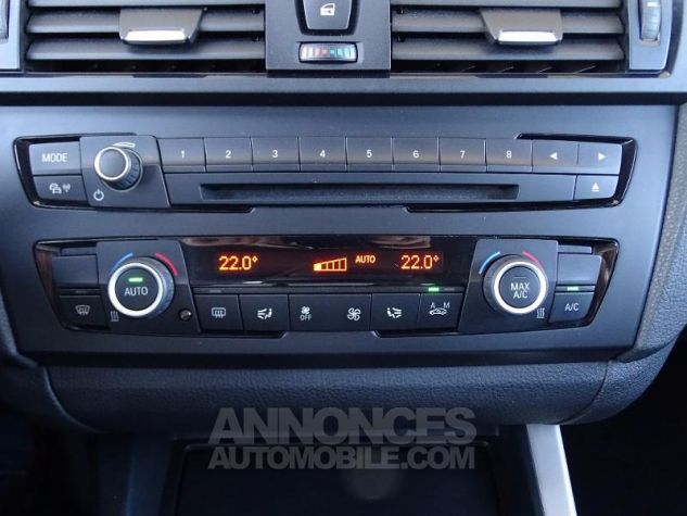 BMW Série 1 114d 95ch Lounge 5p Tiefseeblau metalisee Occasion - 7