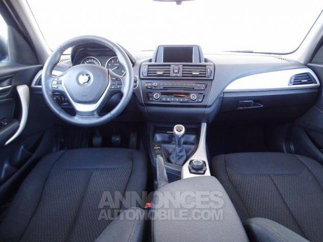 BMW Série 1 114d 95ch Lounge 5p Tiefseeblau metalisee Occasion - 8