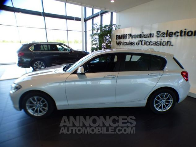 BMW Série 1 116d 116ch Business Design 5p MINERAL WEISS Occasion - 2