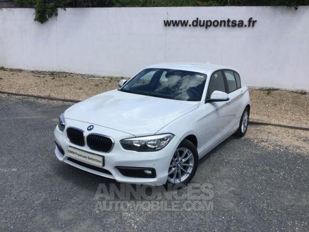 BMW Série 1 116d 116ch Lounge 5p BLANC Occasion - 0