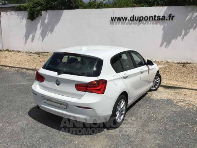BMW Série 1 116d 116ch Lounge 5p BLANC Occasion - 1