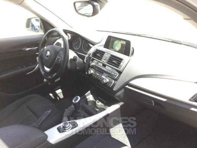 BMW Série 1 116d 116ch Lounge 5p BLANC Occasion - 2