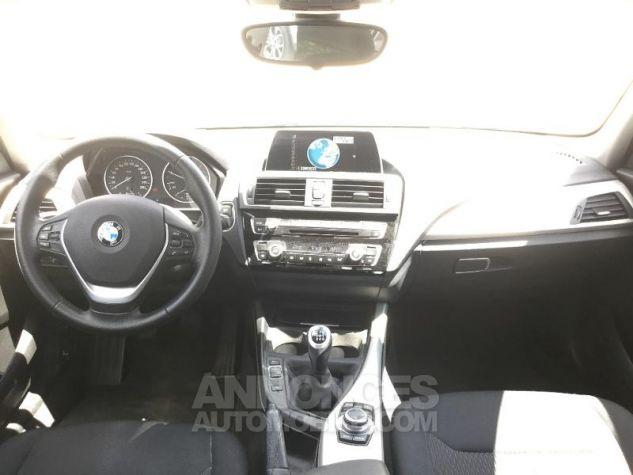 BMW Série 1 116d 116ch Lounge 5p BLANC Occasion - 3