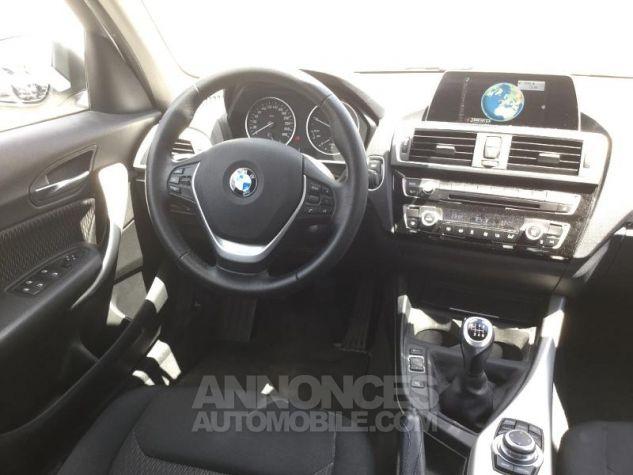 BMW Série 1 116d 116ch Lounge 5p BLANC Occasion - 4