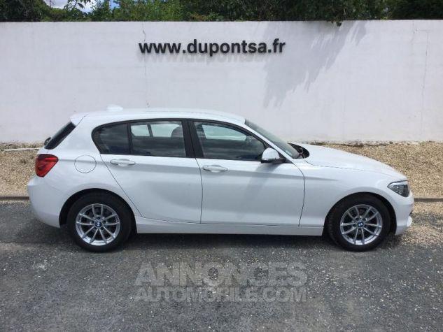 BMW Série 1 116d 116ch Lounge 5p BLANC Occasion - 8