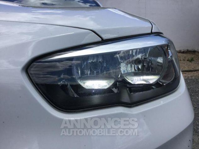 BMW Série 1 116d 116ch Lounge 5p BLANC Occasion - 9