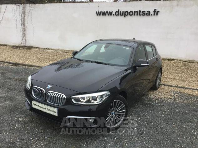 BMW Série 1 116dA 116ch UrbanChic 5p NOIR Occasion - 0