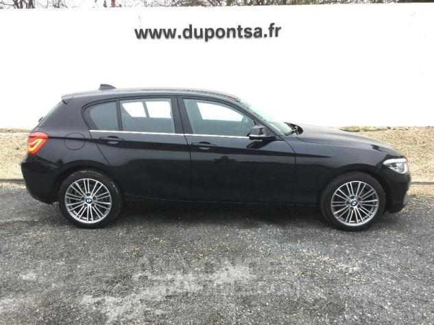 BMW Série 1 116dA 116ch UrbanChic 5p NOIR Occasion - 9