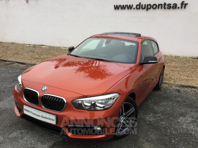 BMW Série 1 116i 109ch Sport 3p ORANGE Occasion - 0